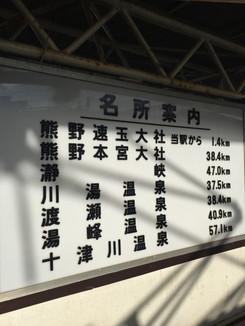 新宮駅名所案内
