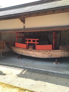 補陀洛渡海の船