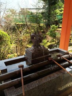 熊野那智大社 手水社