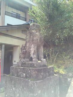 熊野那智大社 狛犬