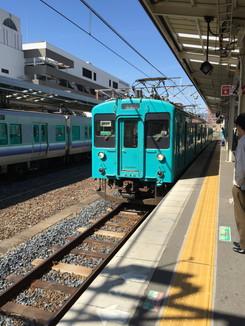 JR和歌山線 105系