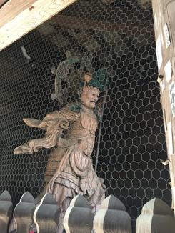 粉河寺 中門 四天王像