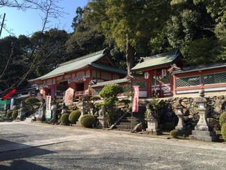 粉河産土神社 拝殿