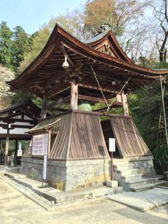 岡寺 鐘楼堂