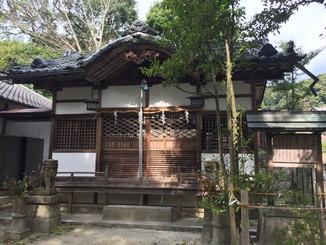 白髪神社 社殿