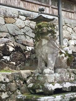 與喜天満神社 狛犬