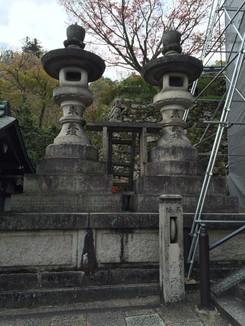長谷寺灯篭