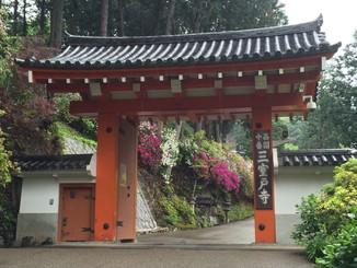 三室戸寺 山門