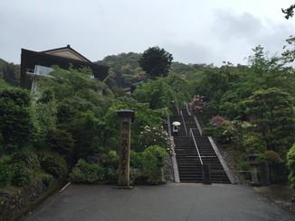 石段辺りの風景