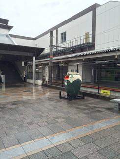 JR宇治駅前