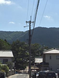 醍醐寺が見えてきました