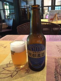 京都の地ビール「ケルシュ」