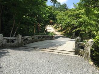 日吉大社日吉三橋 走井橋