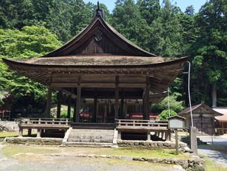 日吉大社摂社宇佐宮拝殿