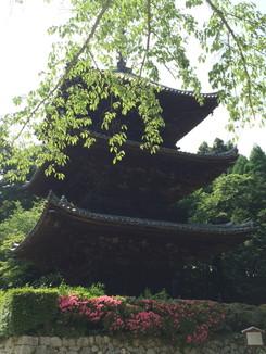園城寺塔婆(三重塔)
