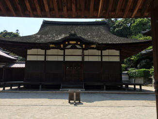 唐院 灌頂堂(重要文化財)