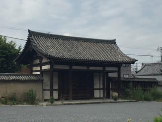 仁王門の北側