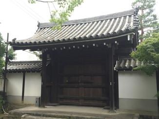 勅使門(京都府指定文化財) 境内内側