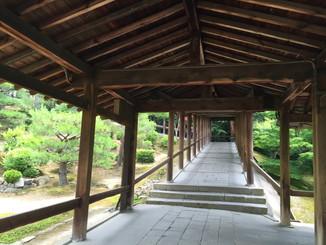 通天橋から開山堂へ