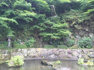 青蓮の滝(?)