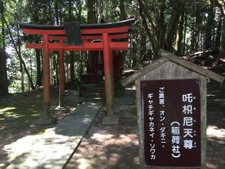 吒枳尼天尊(だきにてんそん)(稲荷社)
