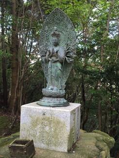第十二番 岩間山正法寺 千手観世音菩薩