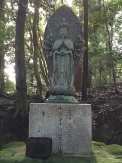 第二十三番 応頂山勝尾寺 十一面千手観世音菩薩