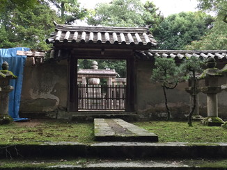 姫路城主・松平直基(なおもと)の墓所