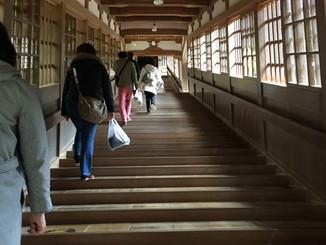 階段状の回廊